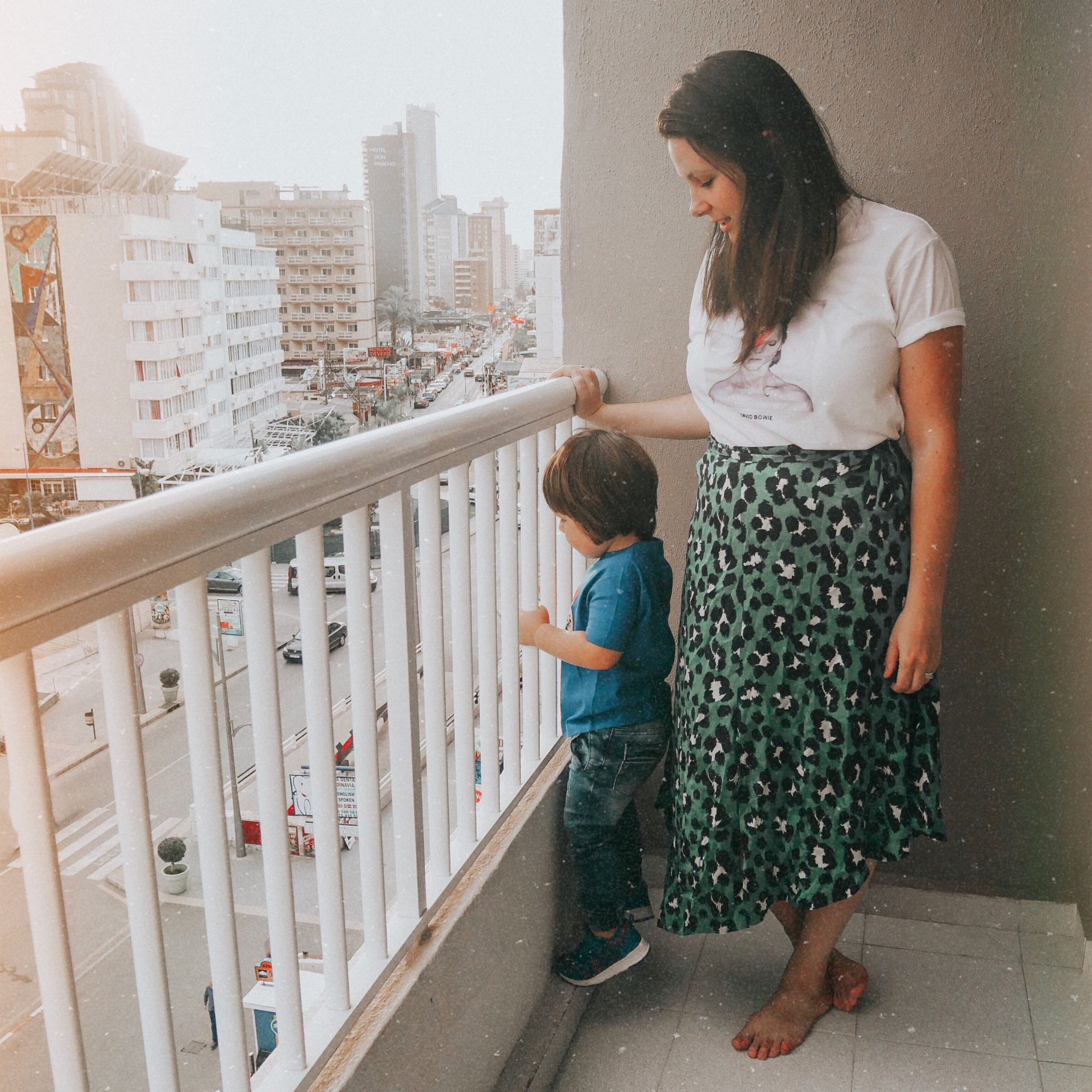 travelling with a toddler abroad