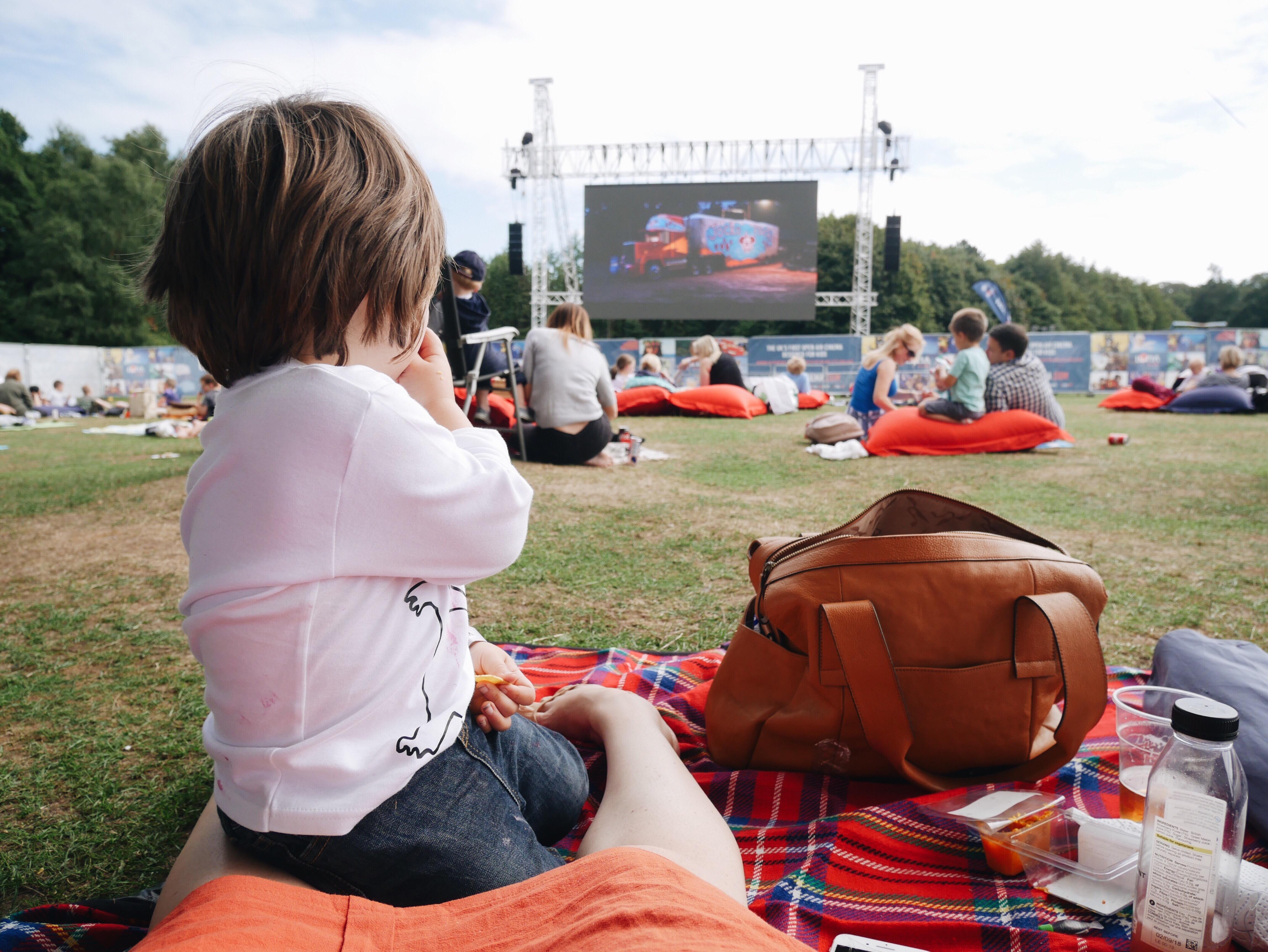Day Tripping Luna Kids Outdoor Cinema