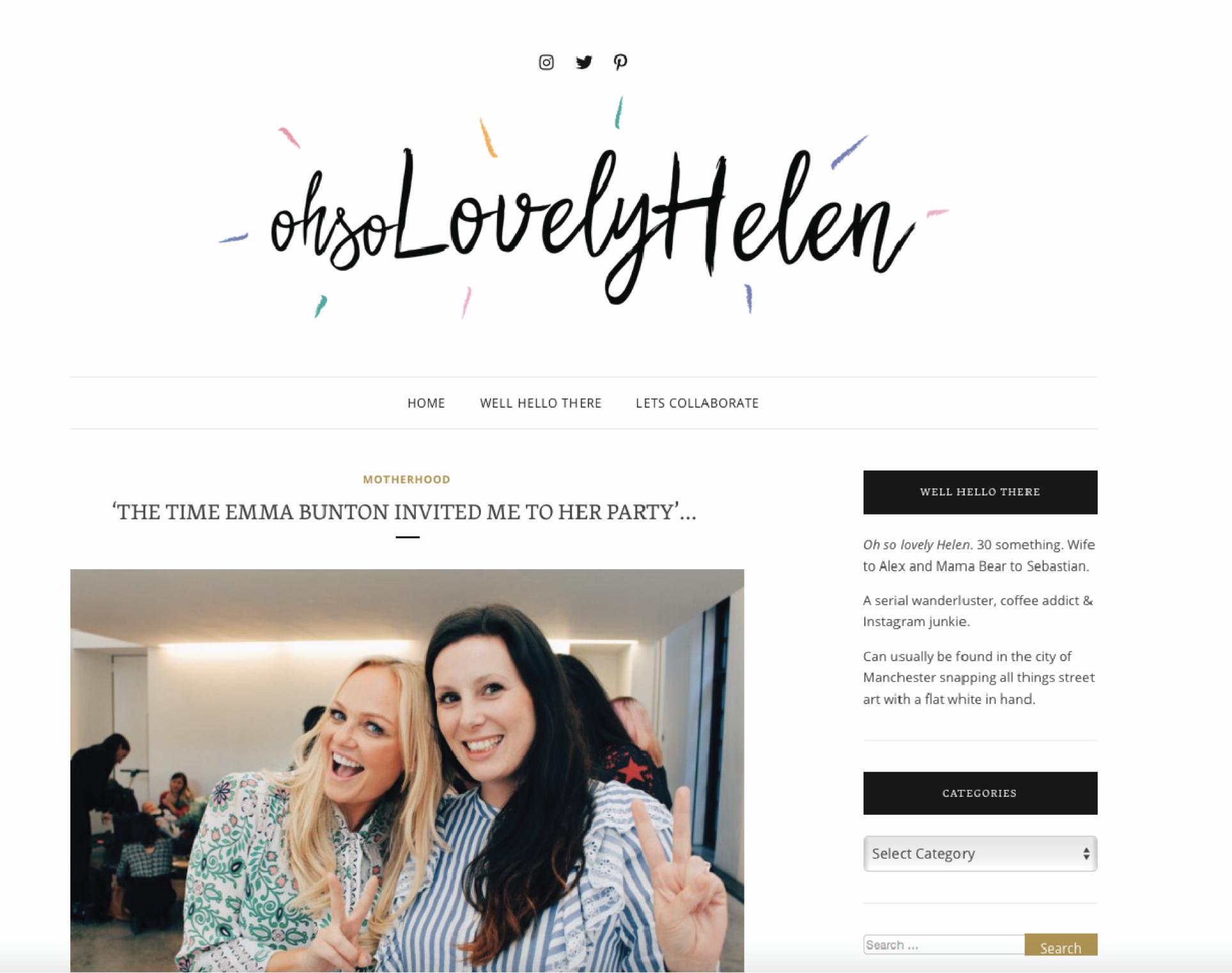 ohsolovelyhelen.com