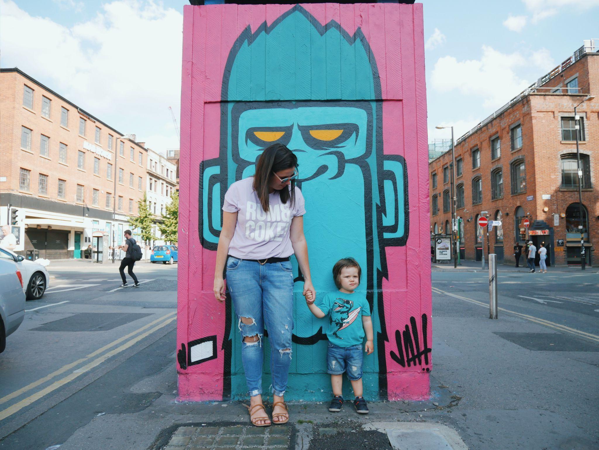 #outhousemcr Stevenson Square Manchester