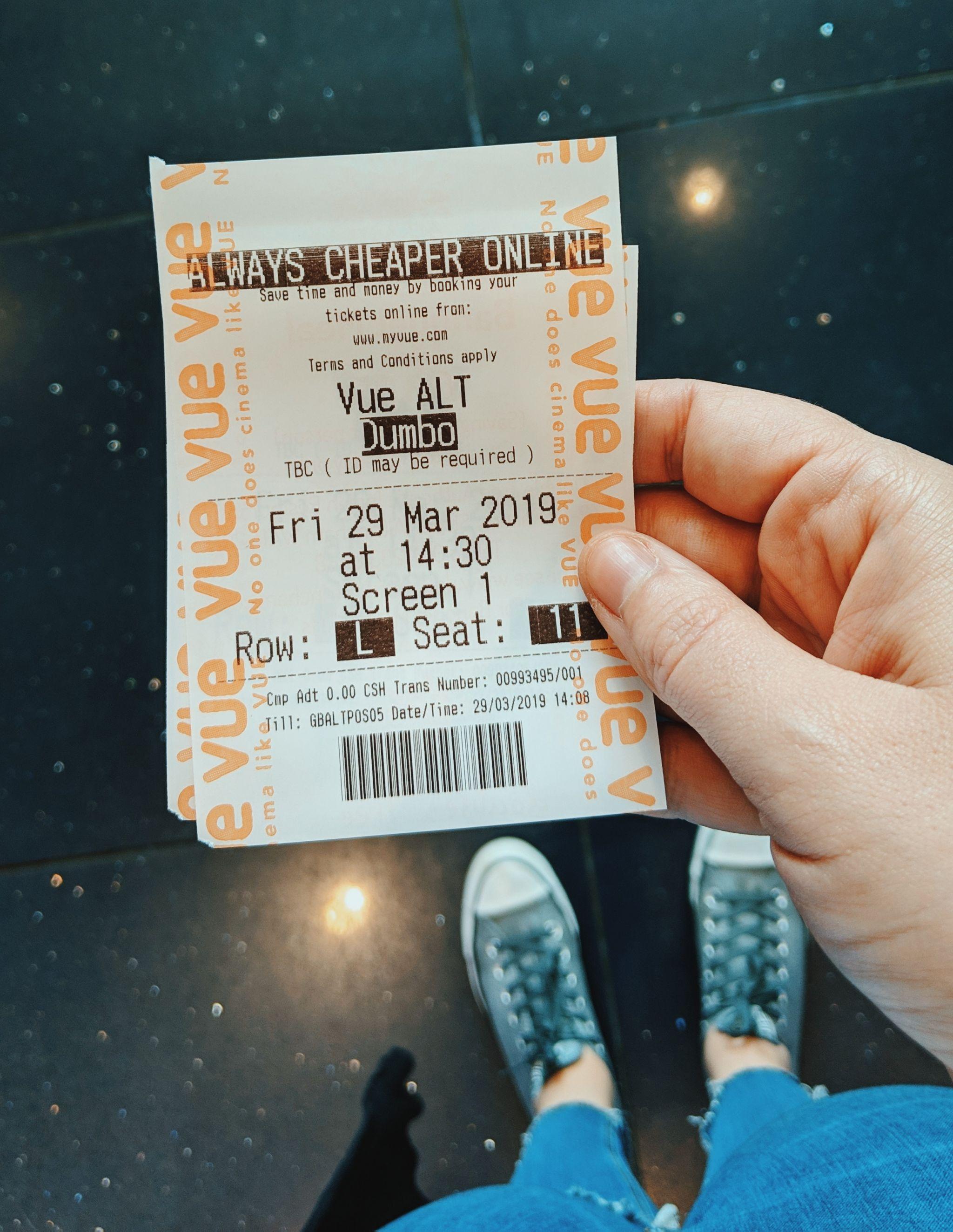 Dumbo Movie Vue Cinema Altrincham
