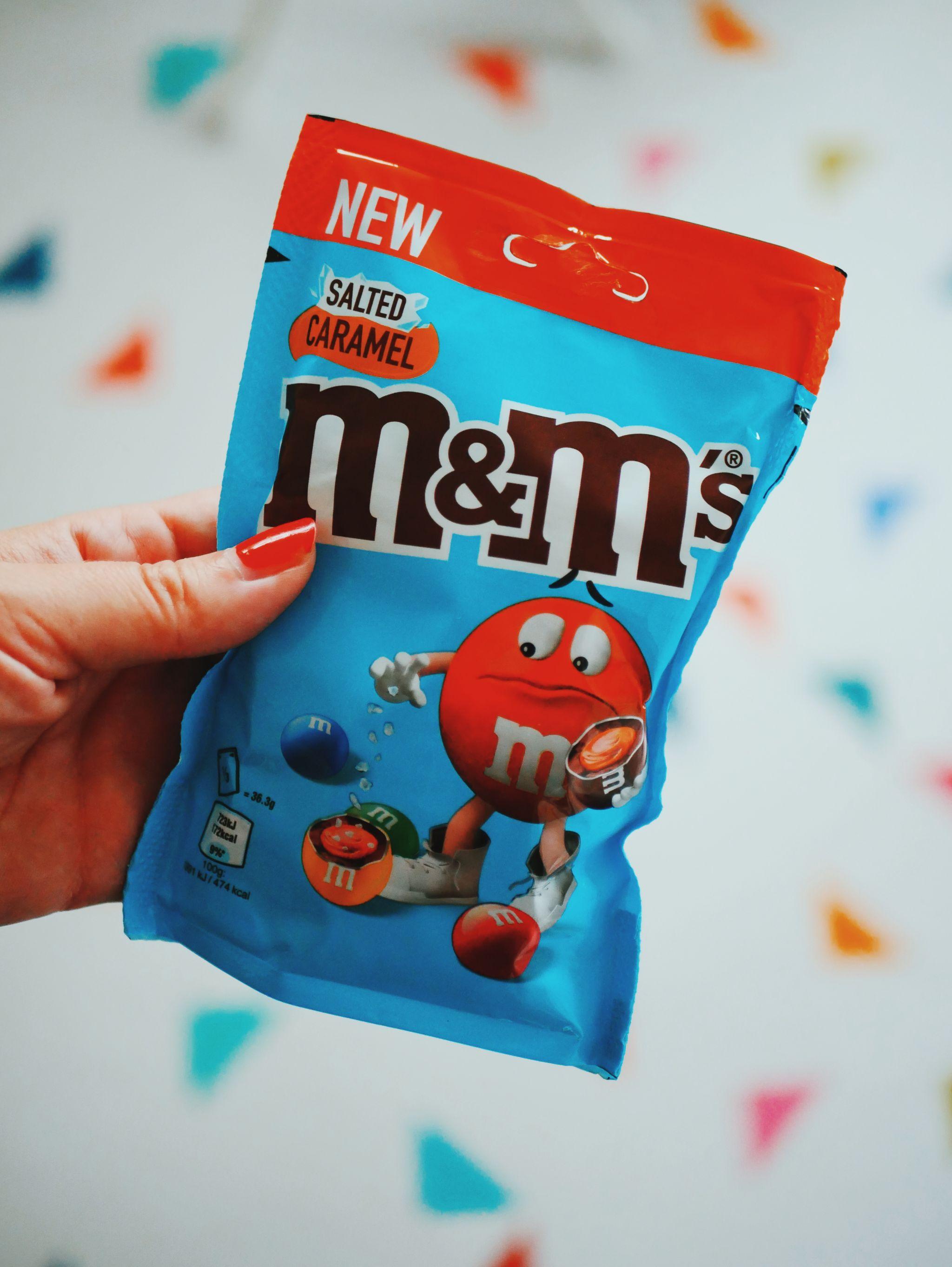 m&m limited edited salted caramel